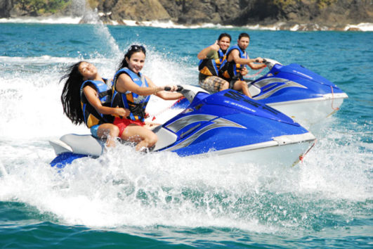 jet ski in the Andaman Sea