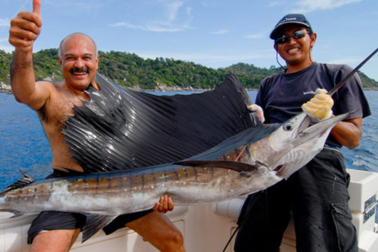 gamefishing in the Andaman Islands