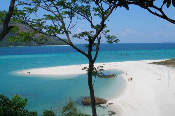 The pristine beach on Neil Island