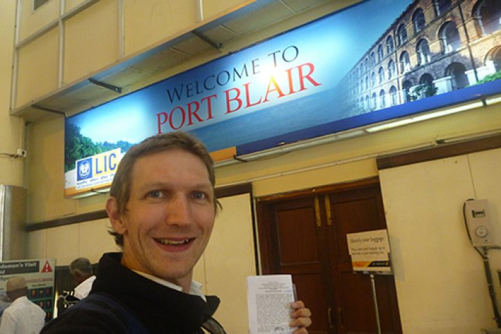 Welcome to Port Blair