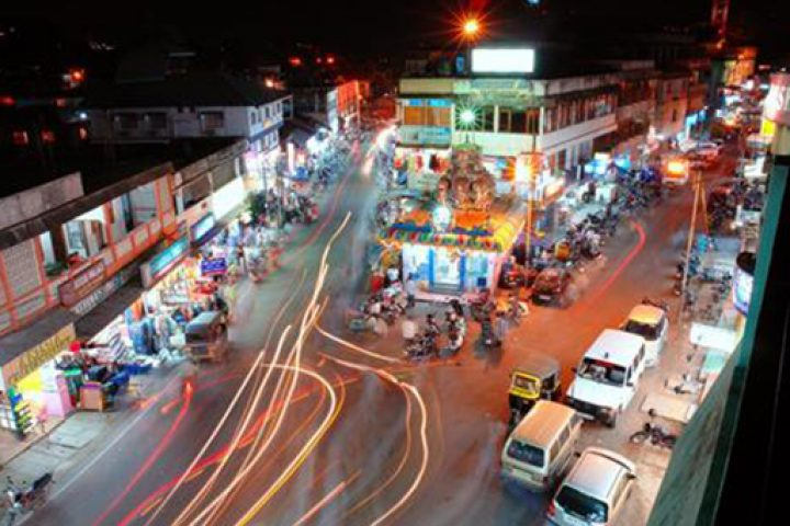 The main market in Port Blair