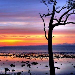 A beautiful sunset at Chidiyatapu