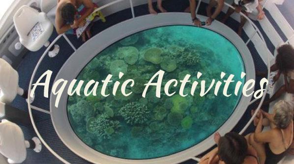 aquatic activities in the Andaman Sea