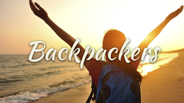Backpack in the ANdamans