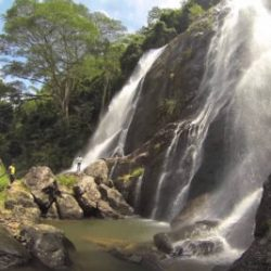 waterfall in baratang island